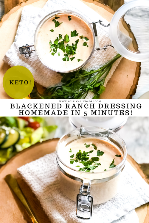 Tangy, creamy, spicy, and smooth this delicious blackened ranch dressing recipe easily rivals the Popeye's version, but with the cost-saving and convenience of making it at home.