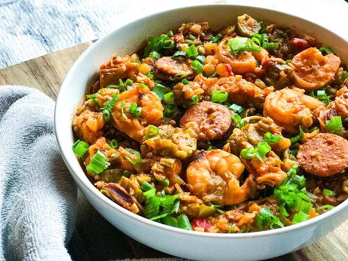 Creole Jambalaya | Keto, Low-Carb