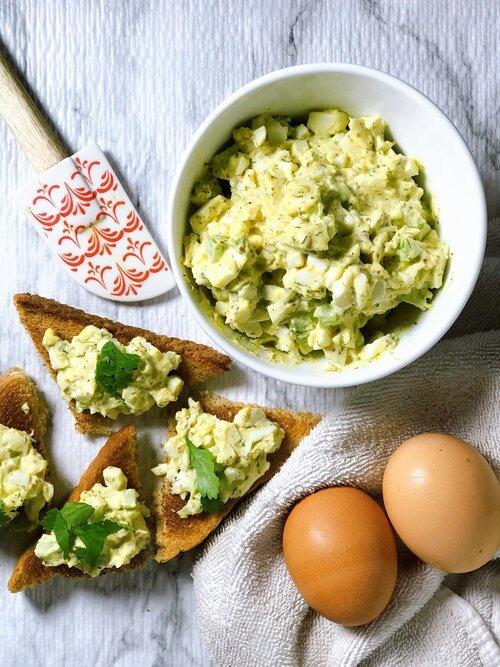Egg Salad | Keto-Friendly, Low-Carb