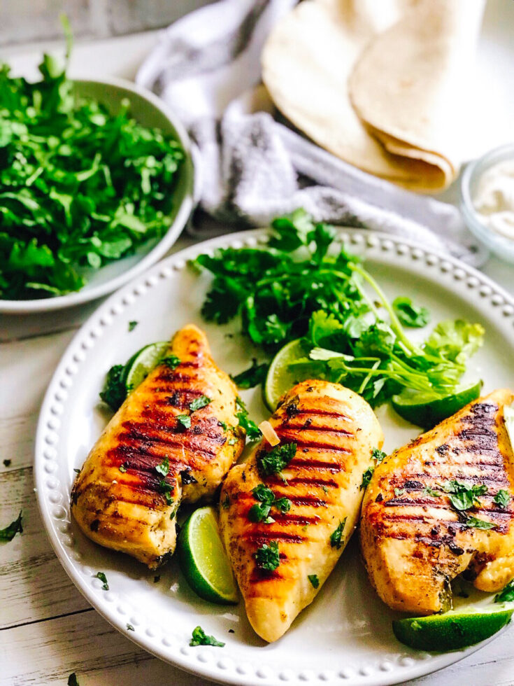 Reverse Seared Tequila Lime Chicken Breasts | Keto, Low-Carb
