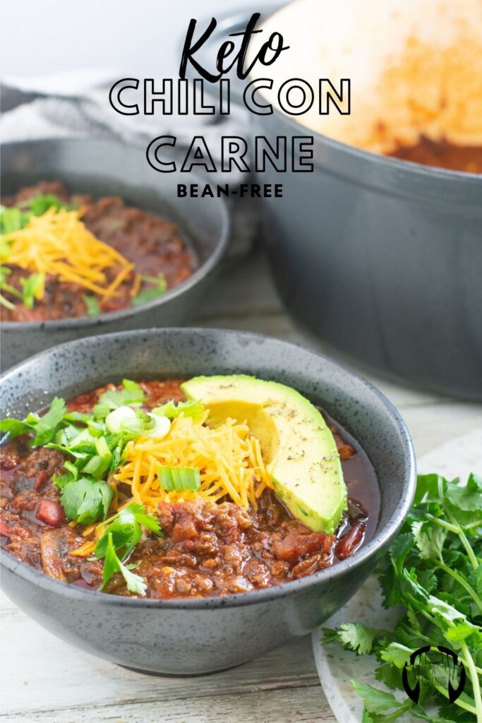 Thick, hearty, and perfect for fall, this bean-free chili con carne is a certified crowd pleaser. It's keto-friendly and low-carb, but packed with flavor.