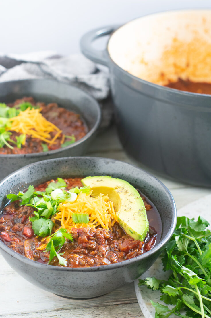 Akaushi Beef Chili con Carne | Beanless, Keto, Low-Carb