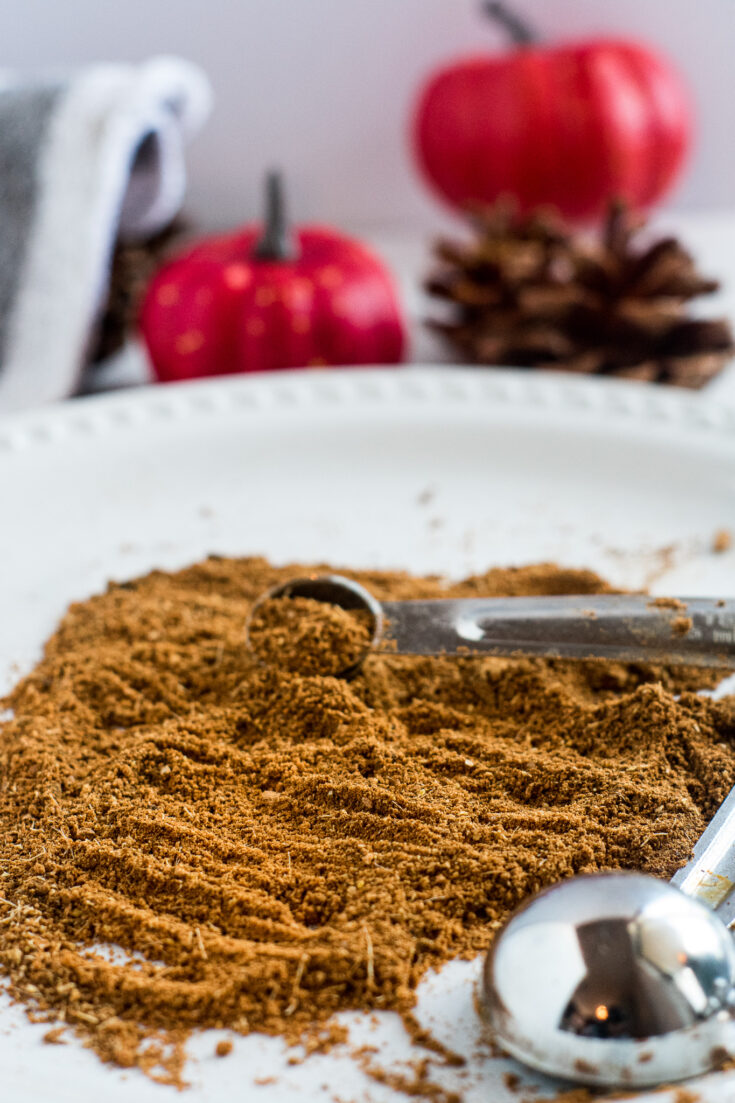 DIY Pumpkin Spice Seasoning Blend (Great for pie!) | Keto, Low-Carb