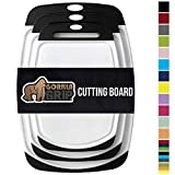 Gorilla Grip Original Oversized Cutting Board, 3 Piece