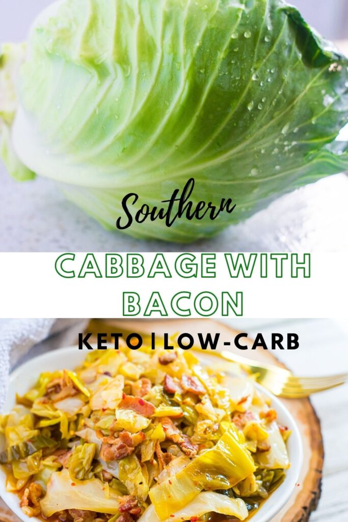 Spicy, tender, and flavorful, this easy southern style cabbage with bacon is a nostalgic dream come true. It's a bona fide family favorite for generations past and present. The best part is that it is low-carb, and keto-friendly. Try it out today.