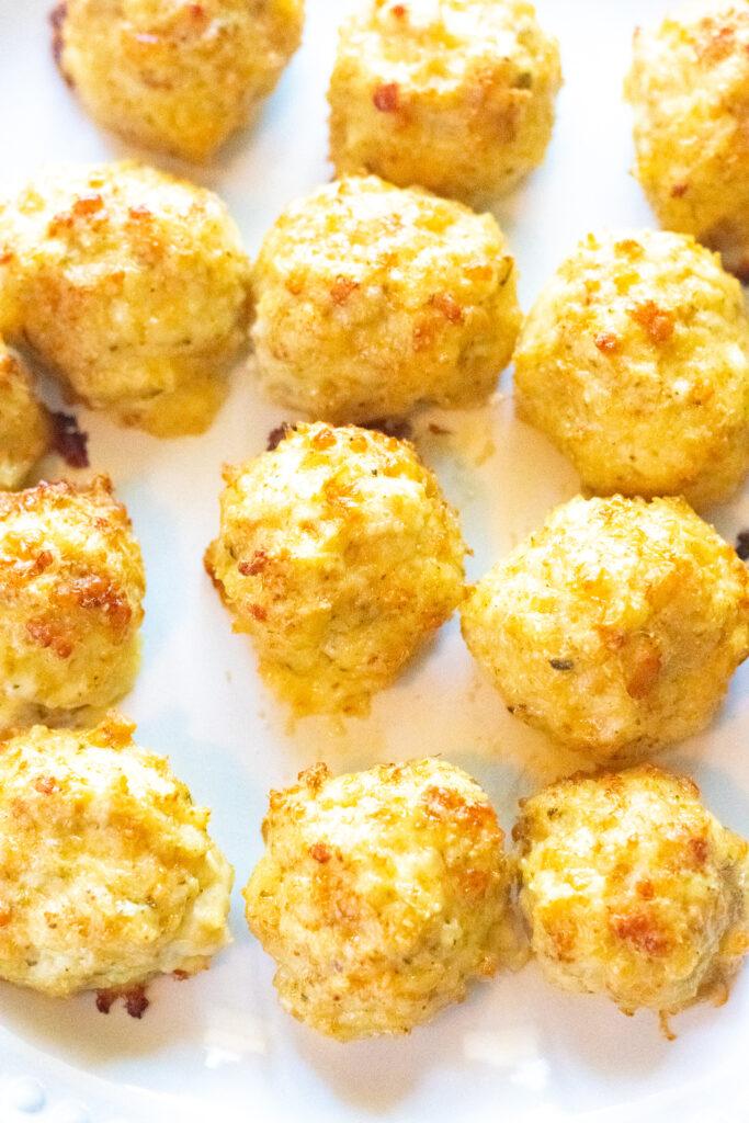 plain chicken meatballs