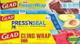 Glad Plastic Food Wrap Variety Pack