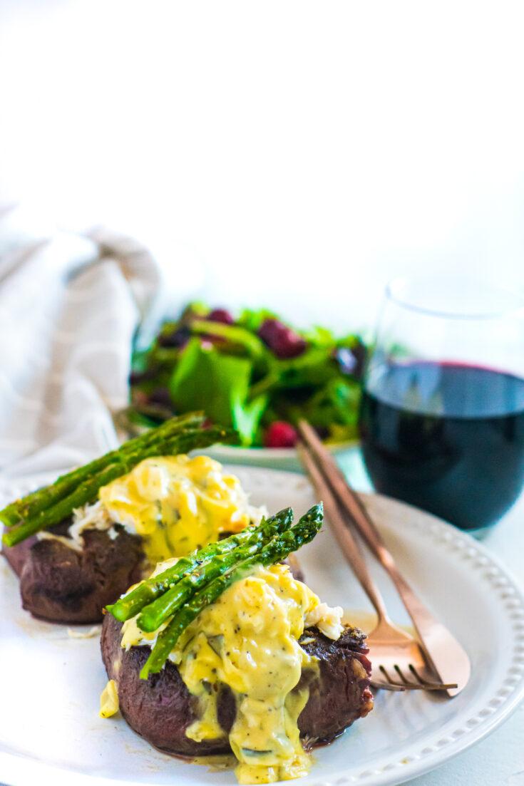 Steak Oscar, Sous Vide | Keto, Low-Carb