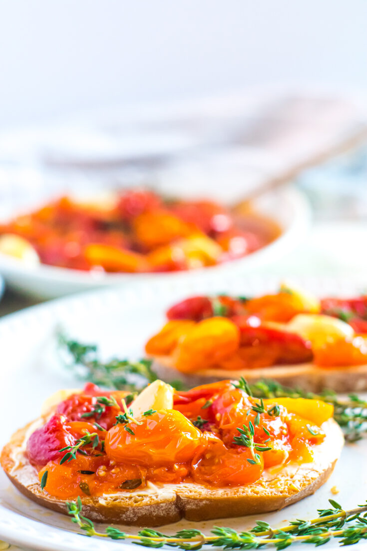 Tomato Confit | Vegan, Low-Carb
