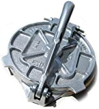 Estrella 7.5 inch Cast Iron Tortilla Press and Pataconera, Original Made in Mexico Brand: Estrella